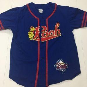 Vintage Disney Winnie The Pooh Baseball Jersey